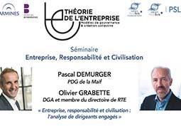 Entreprise, responsabilité et civilisation: l'analyse de dirigeants engagés