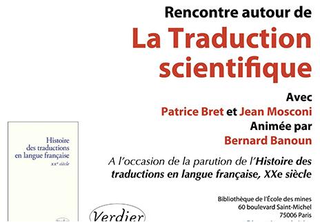 La traduction scientifique
