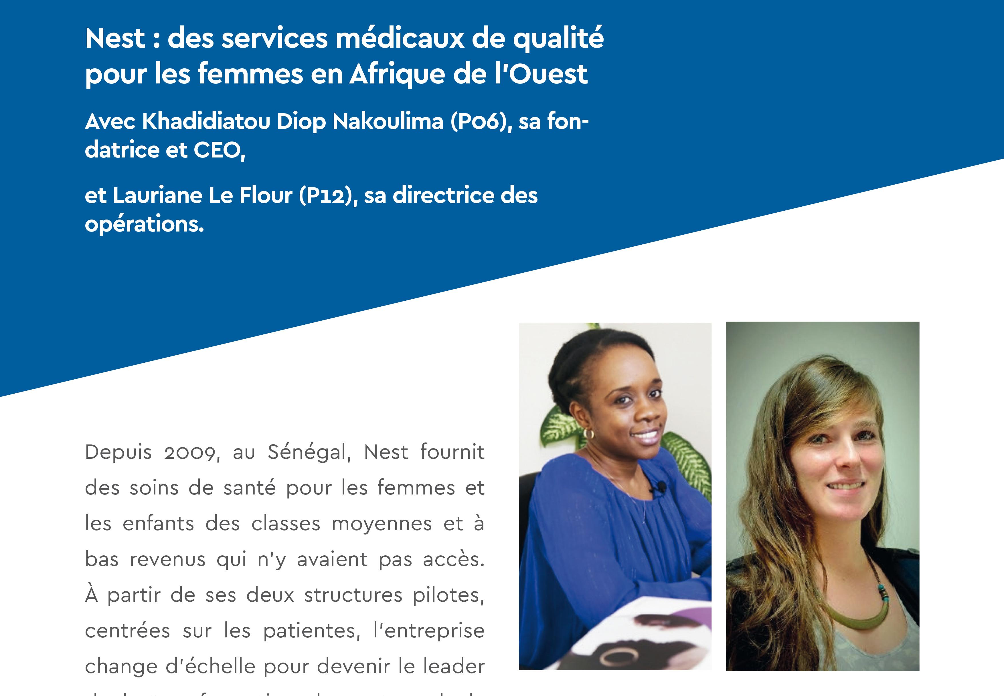 Des services médicaux de qualité et à bas coût, pour les femmes, en Afrique de l'Ouest