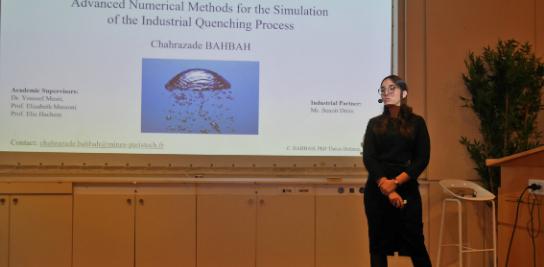 Soutenance de thèse de Chahrazade BAHBAH