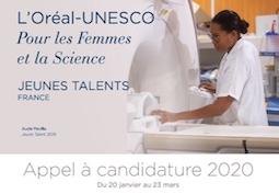 Programme Jeunes Talents France L'Oréal-UNESCO Pour les Femmes et la Science