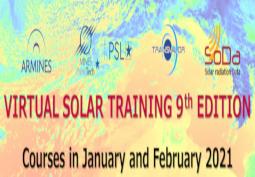 9ème formation sur le rayonnement solaire