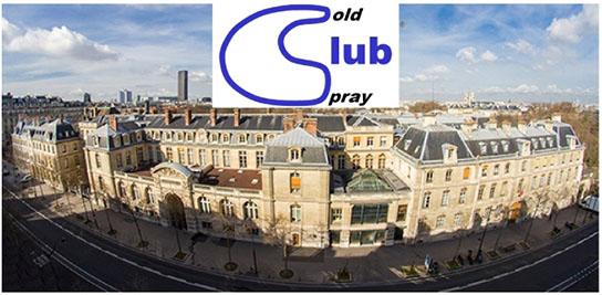 La prochaine réunion du Cold Spray Club est virtuelle !