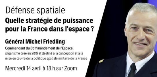 Quelle stratégie de puissance pour la France dans l'espace ?