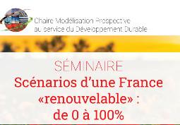 Scénarios d'une France « renouvelable »