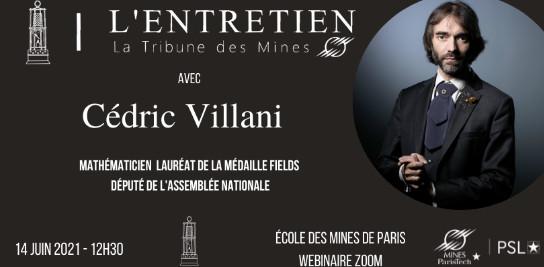 Rencontre avec Cédric Villani